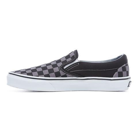 Vans Zapatillas Checkerboard Old Skool Slip-on () Mujer Negro