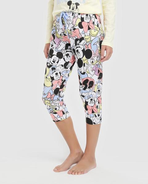 Easy Wear Intimo - Bermuda De Pijama De Mujer De Mickey And Friends de El Corte Ingles en 21 Buttons