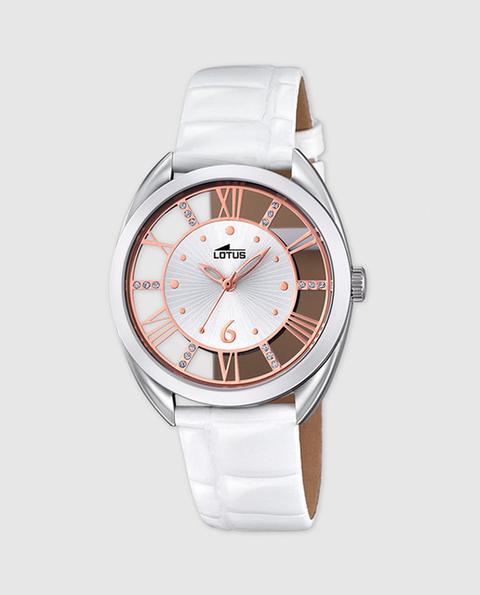San Francisco 5f96c e6fc3 Lotus - Reloj De Niña 18409/1 De Piel Blanco from El Corte ...