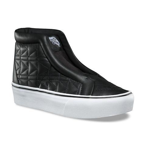 Vans Zapatillas Sk8-hi Laceless Platform De Vans X Karl Lagerfeld (chain/k Quilt) Mujer Negro