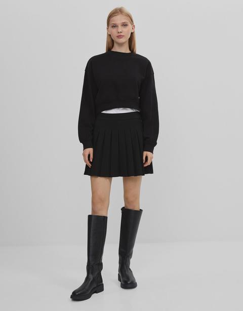 Falda Mini Plisada