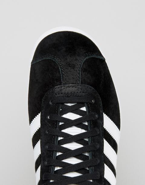 adidas gazelle nere scamosciate