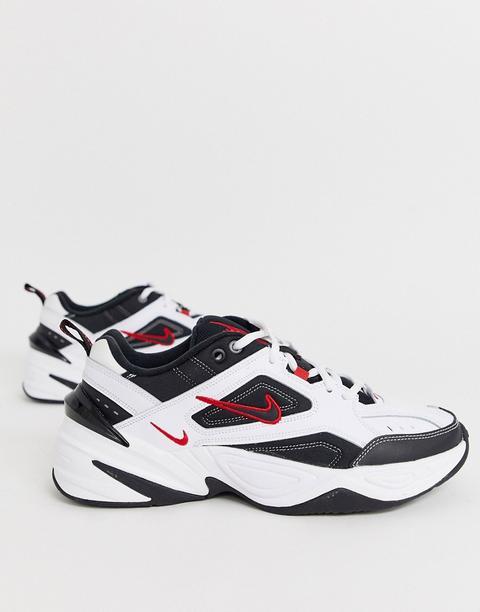 Zapatillas De Deporte En Blanco Y Negro M2k Tekno De Nike de ASOS en 21 Buttons