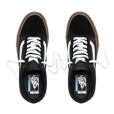 Vans Zapatillas Old Skool Pro (black-white-gum) Mujer Negro