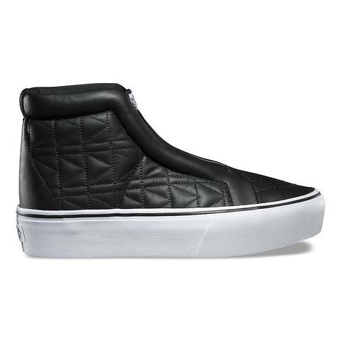 Vans Zapatillas Sk8-hi Laceless Platform De Vans X Karl Lagerfeld (chain/k Quilt) Mujer Negro de Vans en 21 Buttons