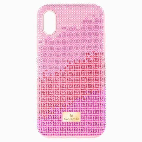 Funda Para Smartphone Con Protección Rígida High Love, Iphone® Xs Max, Rosa de Swarovski en 21 Buttons