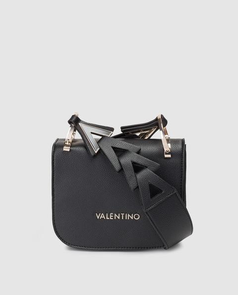 Valentino - Bandolera Mini De Mujer En Negro Con Asa Irregular de El Corte Ingles en 21 Buttons