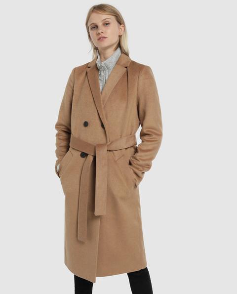 Easy Wear - Abrigo De Mujer Largo Con Cinturón de El Corte Ingles en 21 Buttons