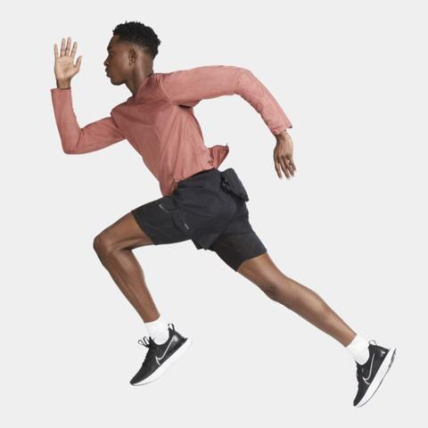 Nike Run Division Men's 3-in-1 Running Shorts - Black
