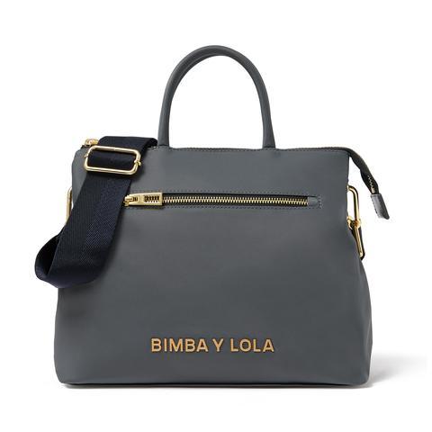 comprar más nuevo nuevos productos para la mejor actitud Bolso Tote Mediano Gris from Bimba Y Lola on 21 Buttons
