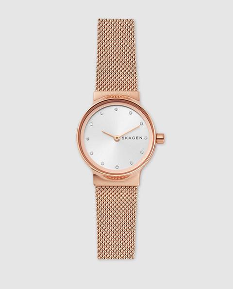 Skagen - Reloj De Mujer Freja Skw2665 De Acero Rosa