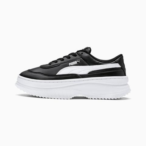 Zapatillas Para Mujer Deva Leather, Blanco/negro, Talla 35,5 | Puma Mujeres de Puma en 21 Buttons