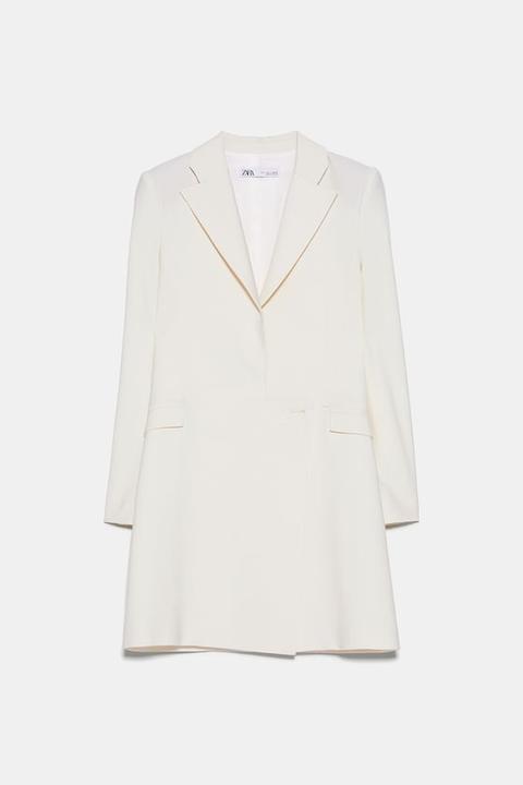 Vestido Blazer de Zara en 21 Buttons