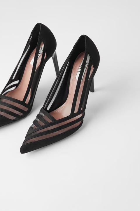 Zapato Tacón Rejilla