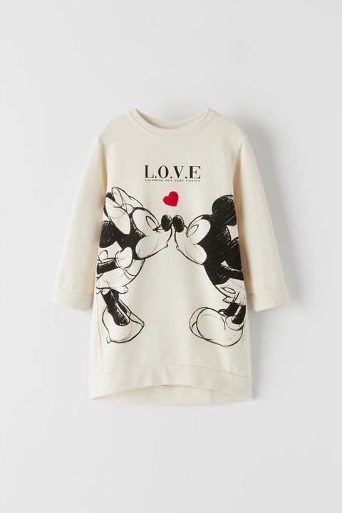 Vestido Mickey Y Minnie Mouse © Disney