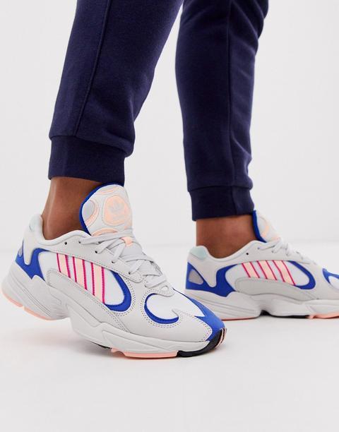 Adidas Originals - Yung 1 - Sneakers - Bianco de ASOS en 21 Buttons