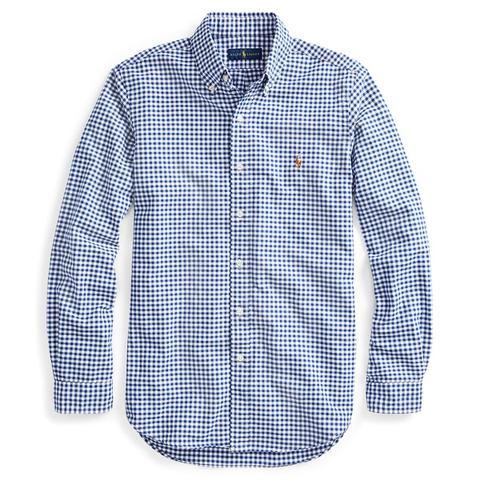 Camisa De Cuadros Vichy Classic-fit de Ralph Lauren en 21 Buttons