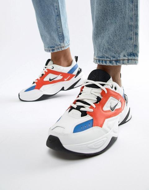 Nike - M2k Tekno - Sneakers Bianche Av4789-100 - Bianco