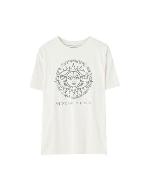 Camiseta Ilustración Sol