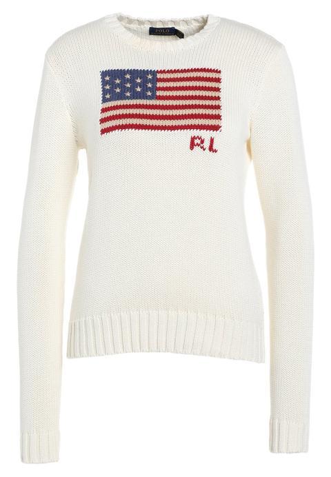 low cost eb425 8746e Polo Ralph Lauren Maglione Cream Multi from Zalando on 21 Buttons