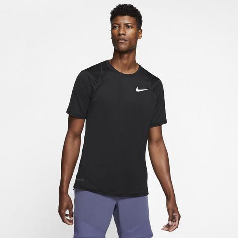 Nike Pro Camiseta De Manga Corta - Hombre - Negro