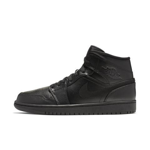 Scarpa Air Jordan 1 Mid - Uomo - Nero de Nike en 21 Buttons