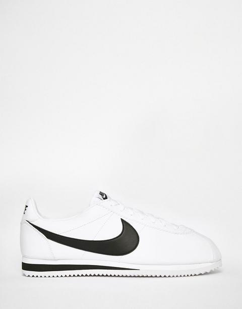 Nike - Cortez - Sneakers Bianche In Pelle 749571-100 - Bianco