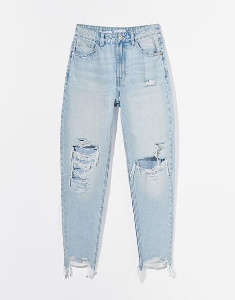 Jeans Mom Rotos