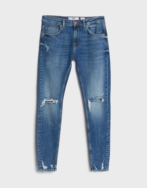 Jeans Super Skinny Rotos