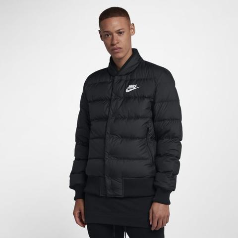 Conciliador Representar dedo índice  Nike Sportswear Down Fill Chaqueta Bomber - Hombre - Negro from Nike on 21  Buttons