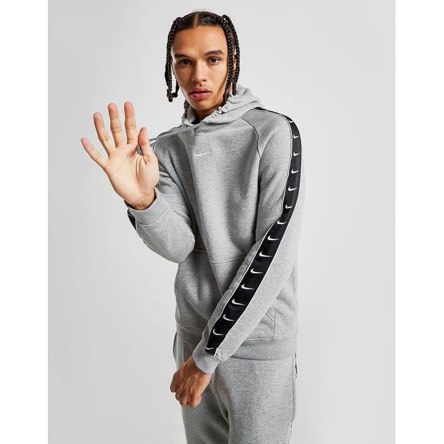 Nike Tape Fleece Overhead Hoodie - Grey