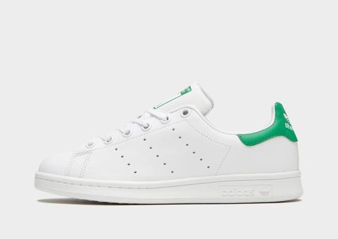 Adidas Originals Stan Smith Júnior, Blanco de Jd Sports en 21 Buttons