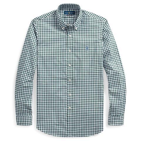 Camisa De Popelina Custom Fit A Cuadros de Ralph Lauren en 21 Buttons