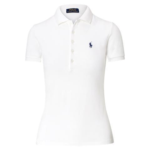Camisa Polo Slim Fit Con Elástico de Ralph Lauren en 21 Buttons