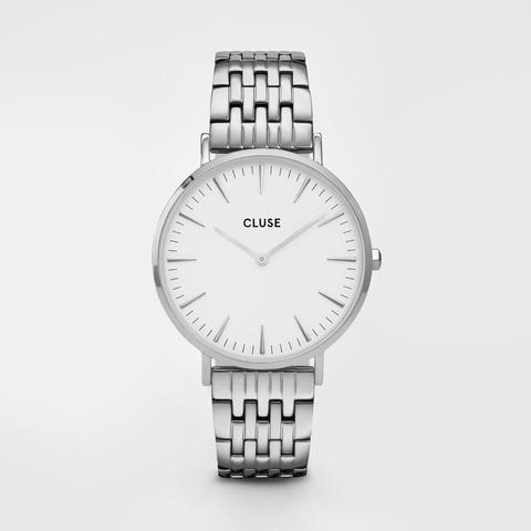 La Bohème Multi-link Silver White/silver de Cluse en 21 Buttons