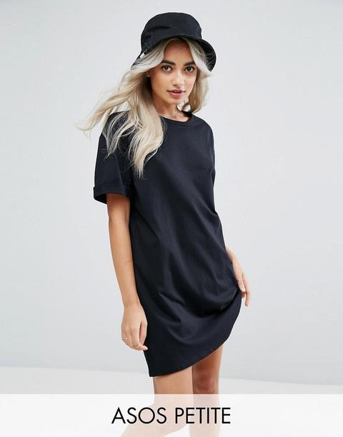 petite t shirt dress
