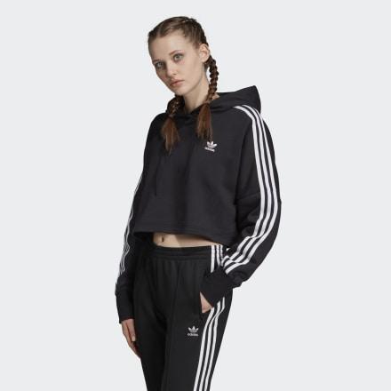 Sudadera Con Capucha Cropped de Adidas en 21 Buttons