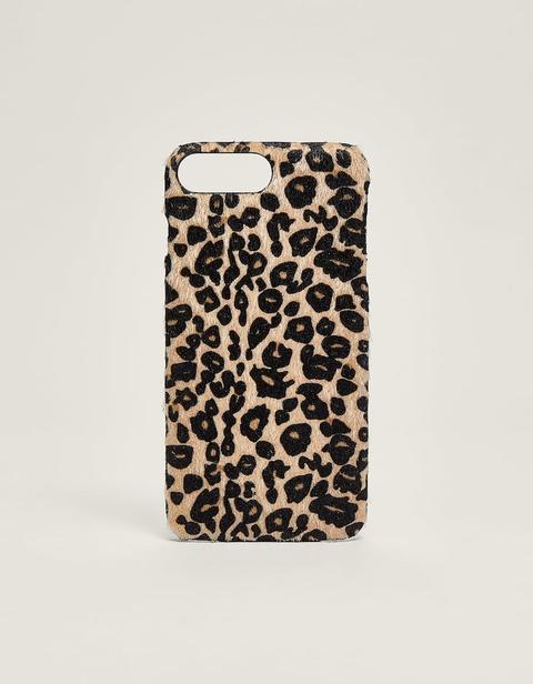 Funda Para Iphone Plus 6/7/8 Leopardo