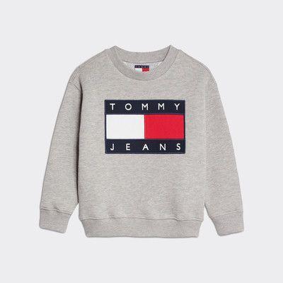 Sudadera Tommy Jeans Con Parche Y Logo
