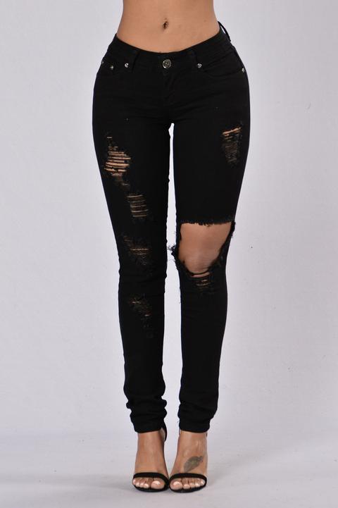 Think I\u0027m Cute? Jeans , Black from Fashion Nova on 21 Buttons
