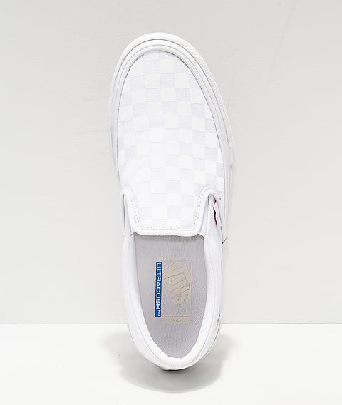 Vans Slip-on Pro Reflect White Skate