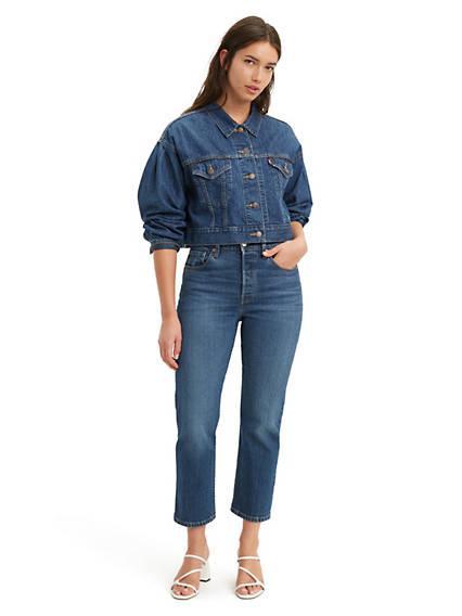501® Crop Jeans Dark Indigo / Dark Indigo de Levi's en 21 Buttons