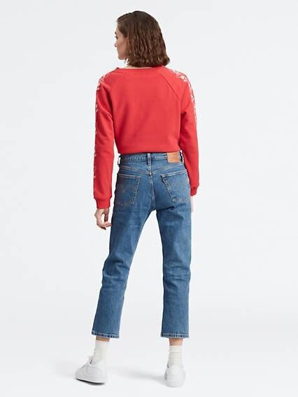 501® Crop Jeans Azul / Jive Stonewash