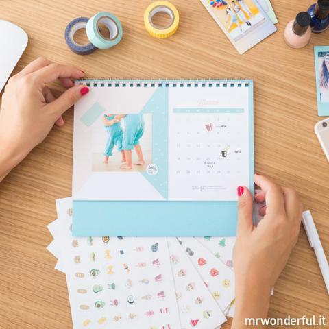 Calendario Mr Wonderful 2019.Calendario Scrapbook 2019 Sarai Un Anno Favoloso From Mr Wonderful On 21 Buttons