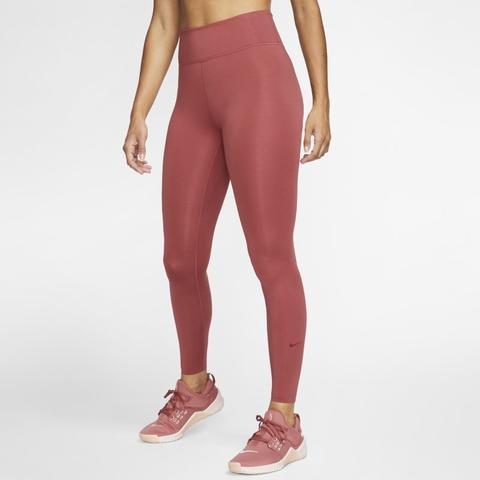 Nike One Luxe Mallas - Mujer - Rojo de Nike en 21 Buttons