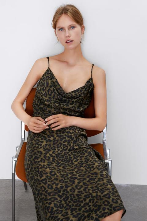 Fliessendes Kleid In Lingerie-optik