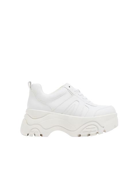 Zapato Chunky Blanco