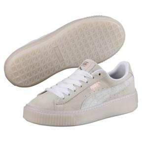 Zapatillas De Mujer Suede Platform