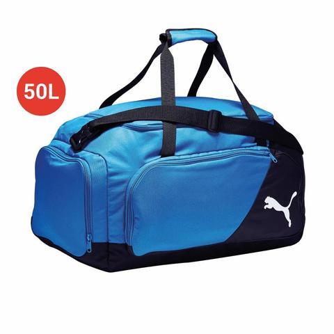 imágenes oficiales tienda del reino unido grandes ofertas Bolsa Deporte Protrain Liga Medium 50 Litros Azul Negro Puma ...