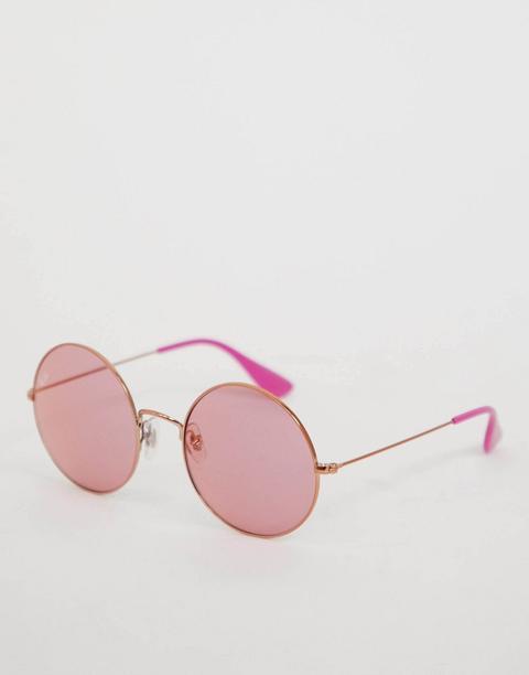 Gafas De Sol Redondas En Rosa De Ray Ban de ASOS en 21 Buttons